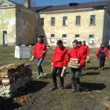 Трудовая акция волонтёров БРСМ  в рамках республиканской акции «Восстановление святынь Беларуси» прошла в Бобруйске