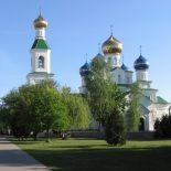 В Неделю Всех святых епископ Серафим совершил Божественную литургию в Никольском кафедральном соборе Бобруйска
